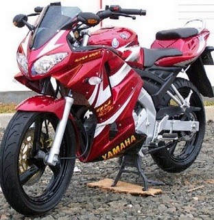 Vixion Modifikasi Motor Sport Full Spesification