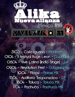 Alika en México 2011