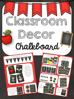 https://www.teacherspayteachers.com/Product/Classroom-Decor-Chalkboard-1907371
