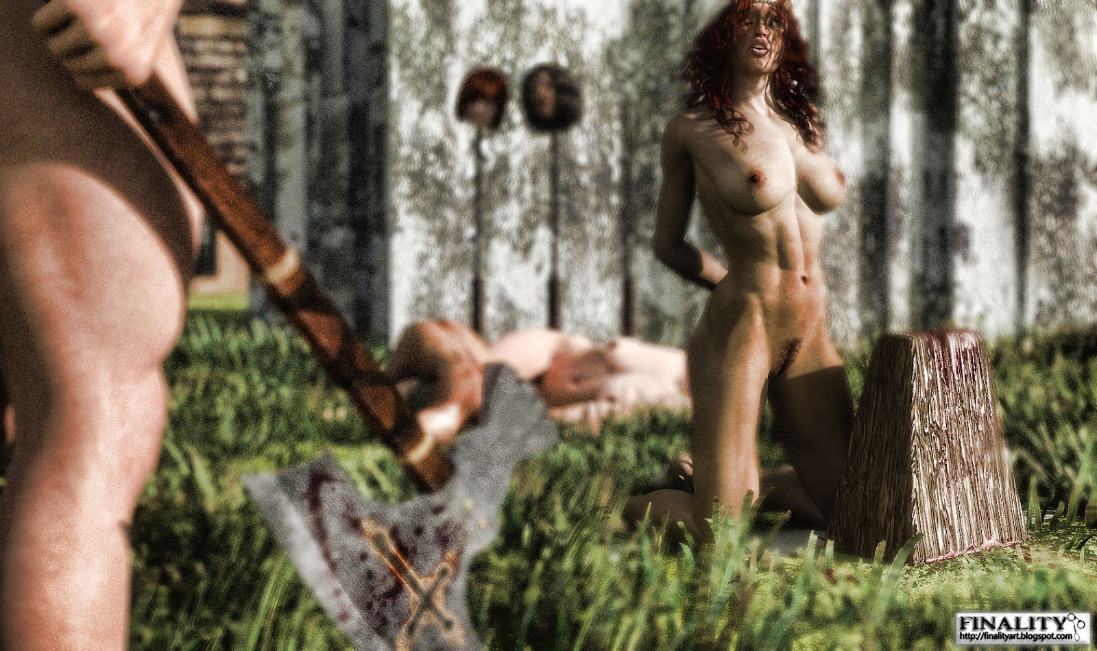Execution erotic fantasy nude picture