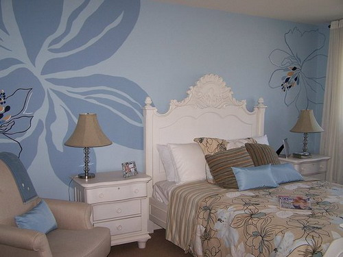 Awesome wall painting designs that will help you in for Different ways to paint walls