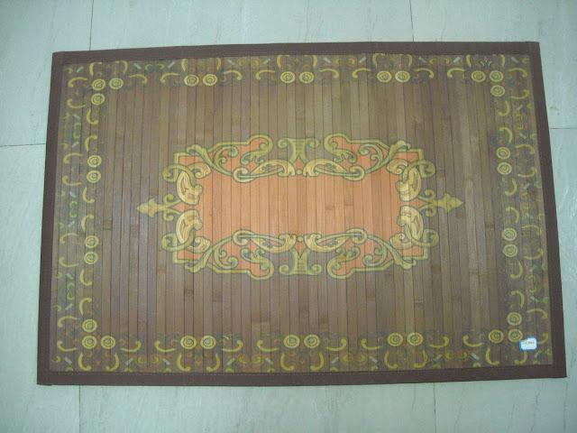 Bamboo Floor Mat3