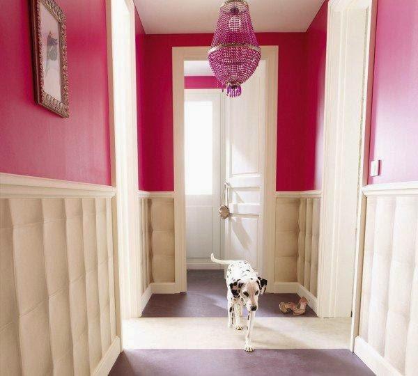Observa y decora c mo decorar mis pasillos - Pasillos con zocalo ...