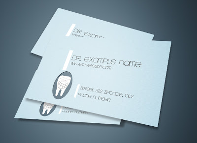 Free dental business cards template free business card templates free dental business cards template flashek Images