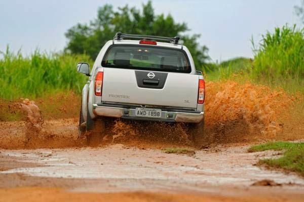imagem do carro Novo Lançamento da Nissan o Frontier 2014