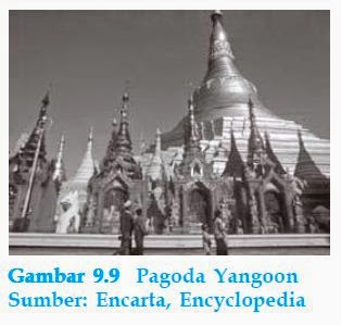 Pagoda Yangoon Myanmar