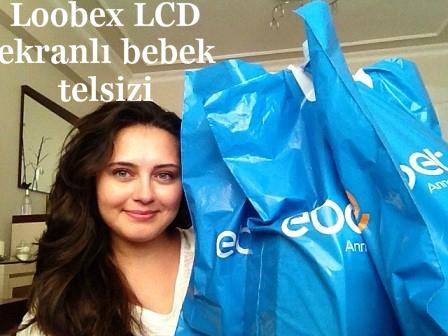 Loobex LCD ekranlı bebek telsizi