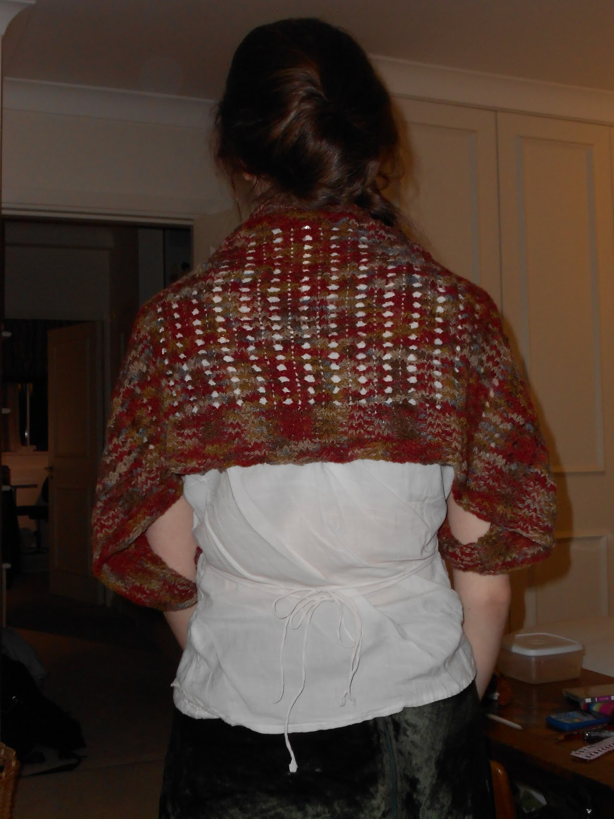 simple things to make and do: Knitting Reblog: Lace Bolero by Kelly ...