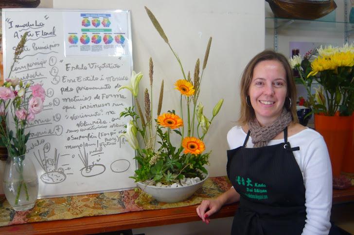 Curso de Arte Floral - Sede - SP .