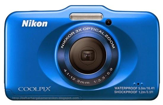 Harga dan Spesifikasi Kamera Nikon Coolpix S31