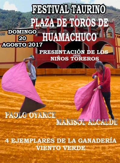 FESTIVAL TAURINO EN HUAMACHUCO