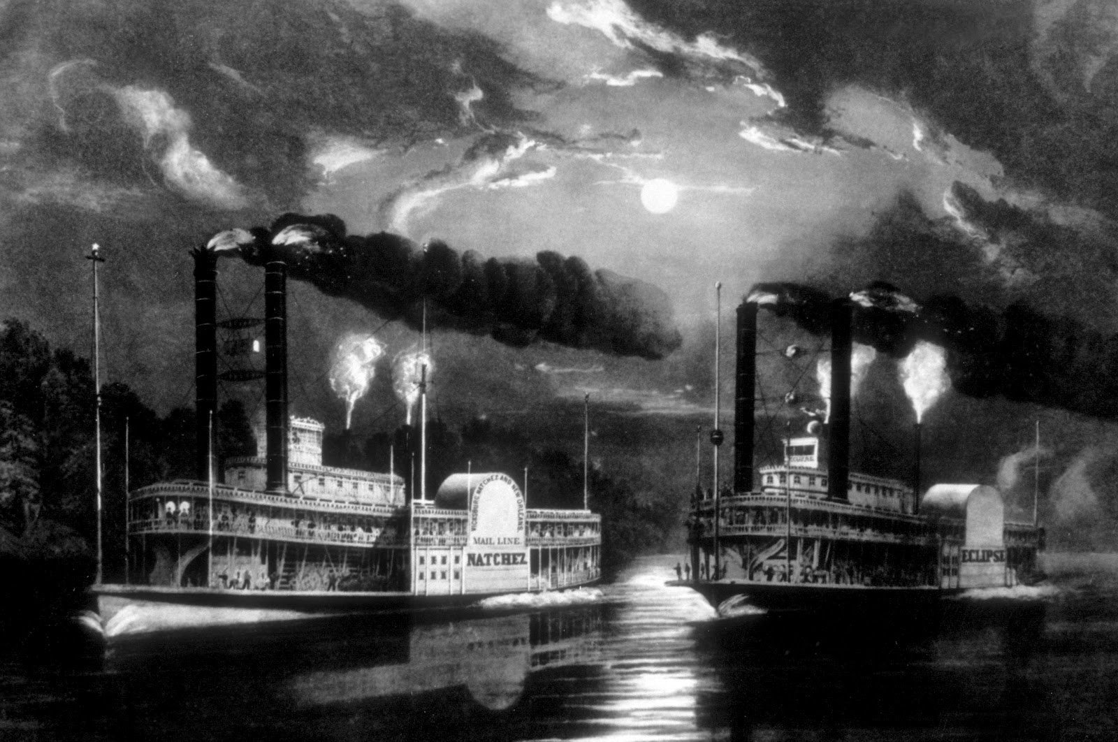 a history of steamboats an invention from the industrial revolution In the newspapers newspapers are a good primary source for tracing the story of the steamboat on september 2, 1807, less that two weeks after he had successfully steamed up to albany and back, robert fulton ran an ad in the new york city papers, including the american citizen, for service between the two cities.