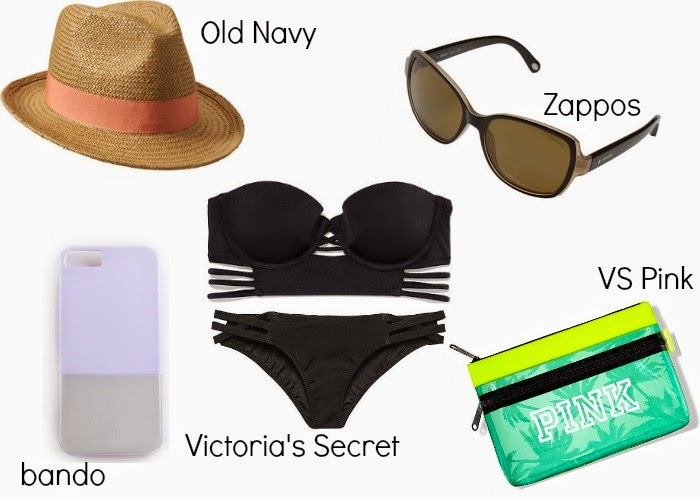 Spring Break Must Haves - Spring Break List