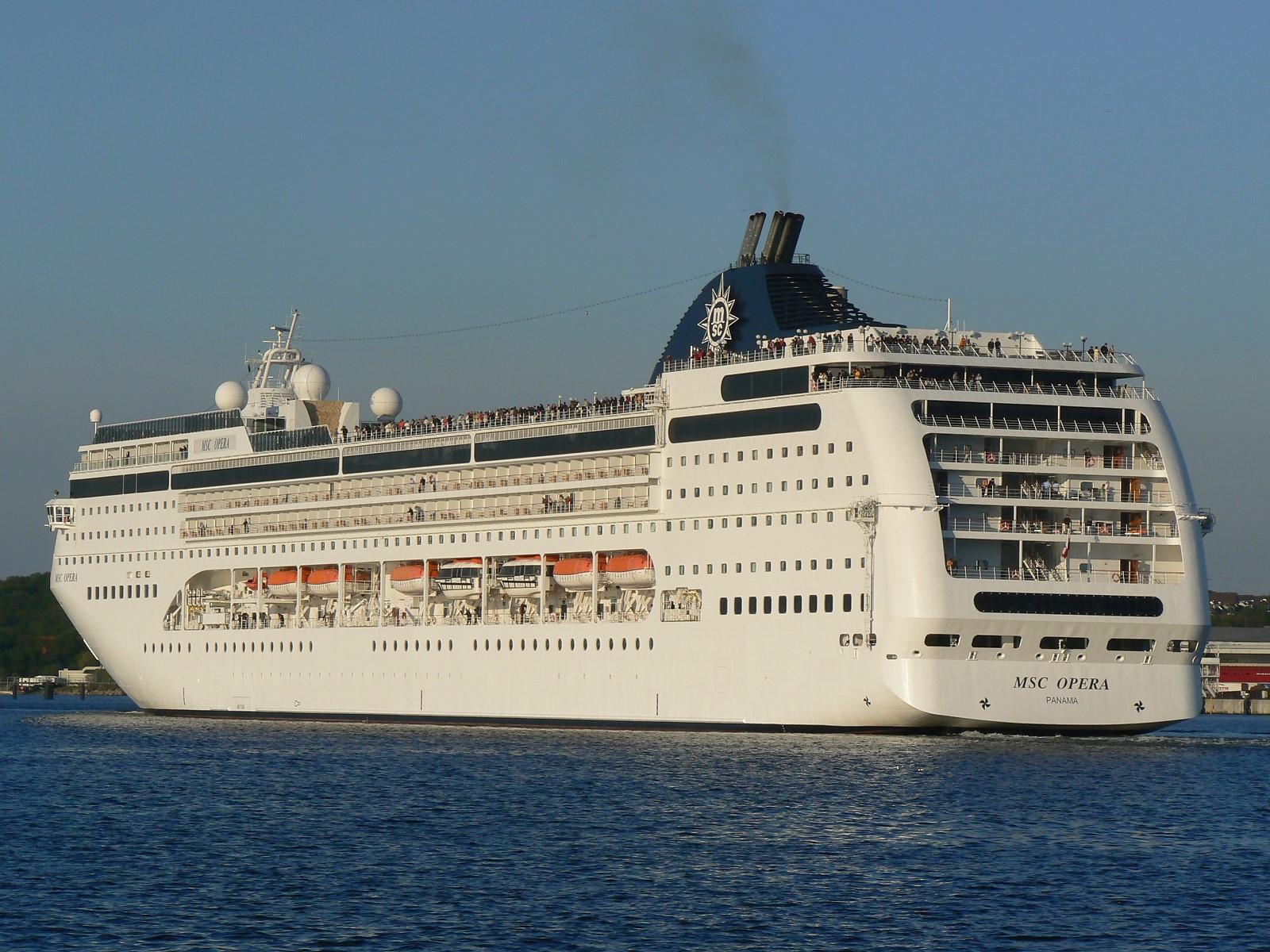 MSC Opera Cruise Ship  Facts Pod