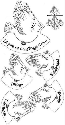 Dibujos para todo: Dibujos de la paz