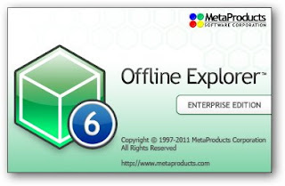 MetaProducts Offline Explorer is a offline browser that allows you to download an unlimited number of your favorite Web and FTP sites for later offline viewing, editing or browsing