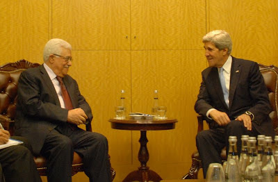 John Kerry and Abbas