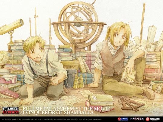 Anime Ot4qu'Z: Wallpaper Fullmetal Alcemist!