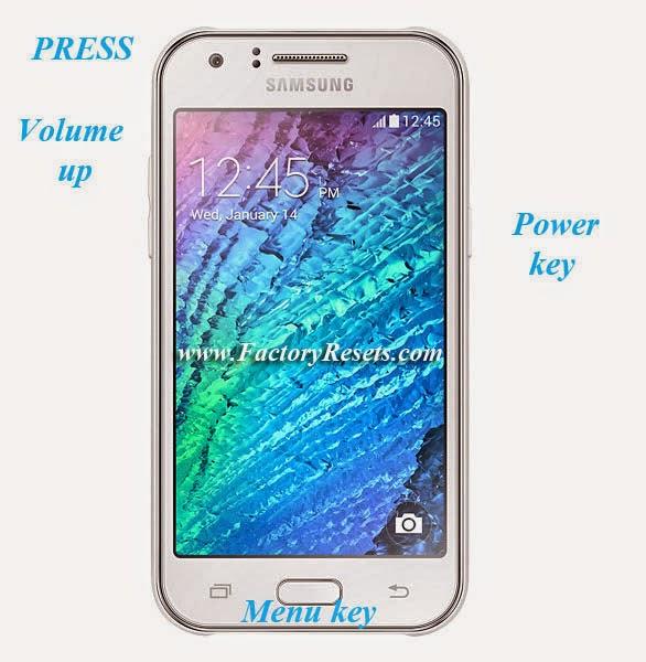 Hard Reset Samsung Galaxy J1 4G (SM-J100)