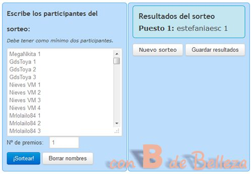 Sorteo Breast up