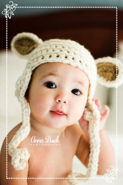 Gorro Ovelha Crochet