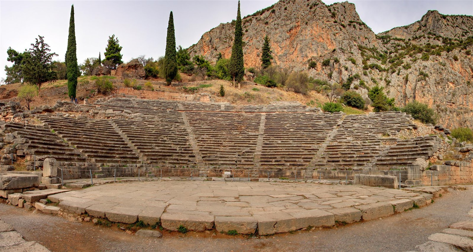 Ancient Delphi  Europe By Camper - Travelling Europe By ...