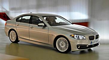 2017 BMW 5-Series Rendering Features Sporty Design