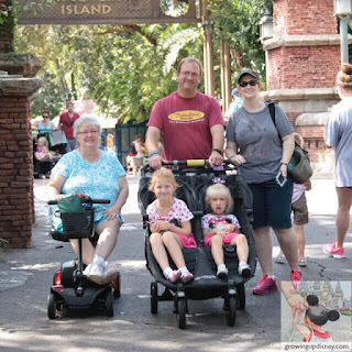 Growing Up Disney, stroller rental at Disney World
