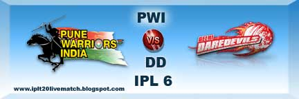 IPL 6 PWI vs DD Highlight and PWI vs DD Full Scorecards IPL 6 Point Table