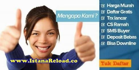 Istana Reload Agen Pulsa Online Termurah