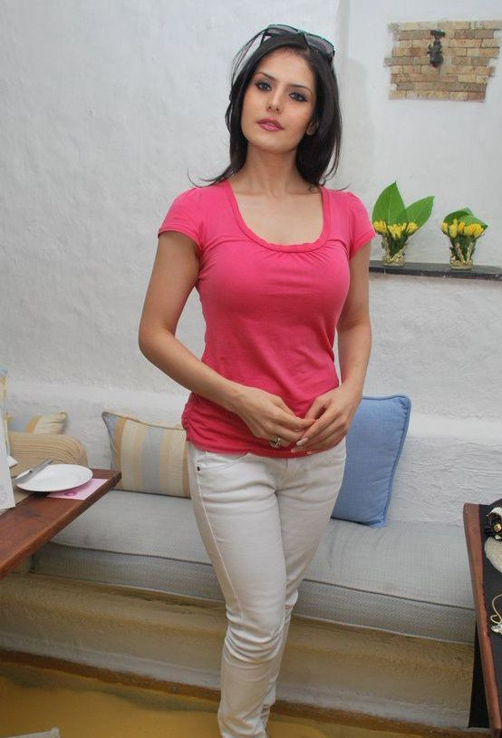 Zarine-Khan+hot+photos+in+jeans