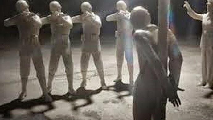 ilustrasi foto bandar narkoba dieksekusi tembak mati