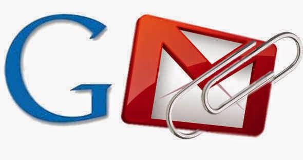 melampirkan di gmail