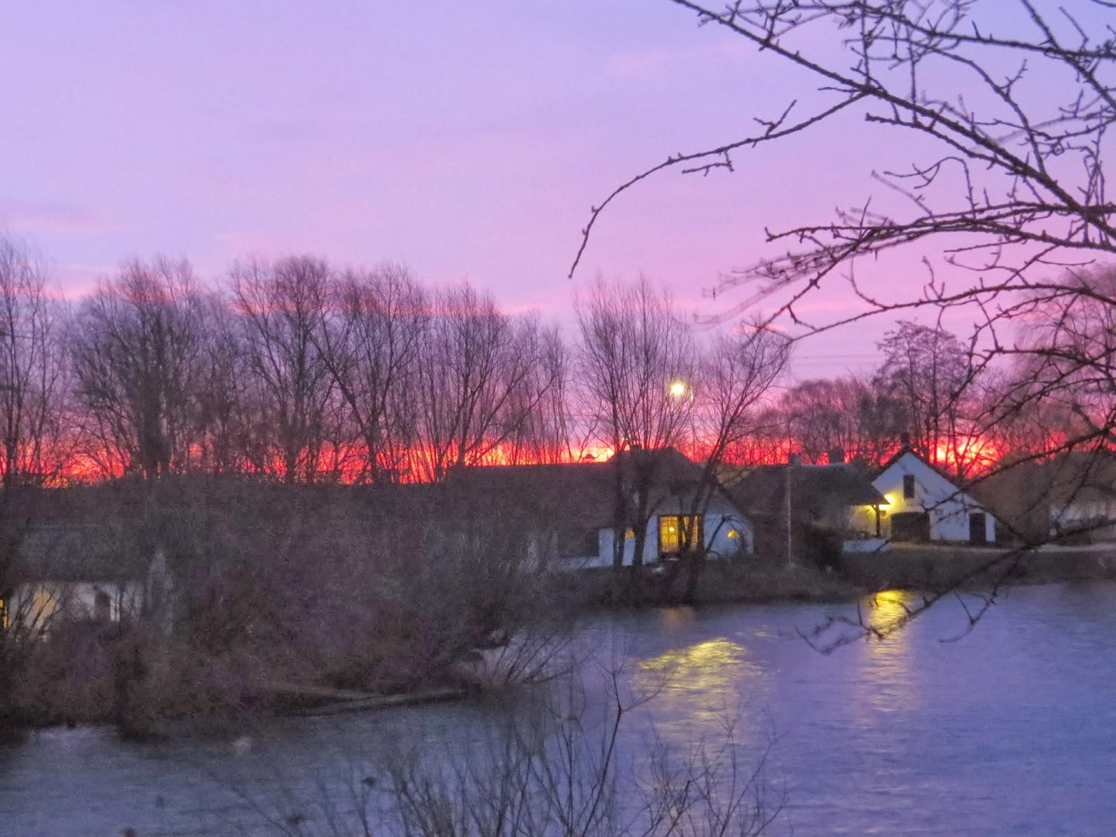 Morgenrot - Schlechtwetter droht