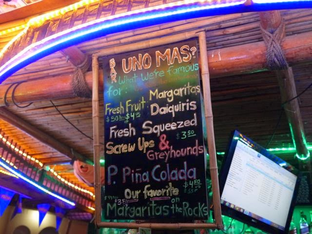 Uno Mas bar shack