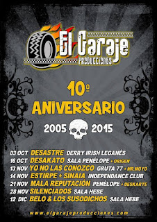 Garaje, Producciones, conciertos, Madrid, directo, live