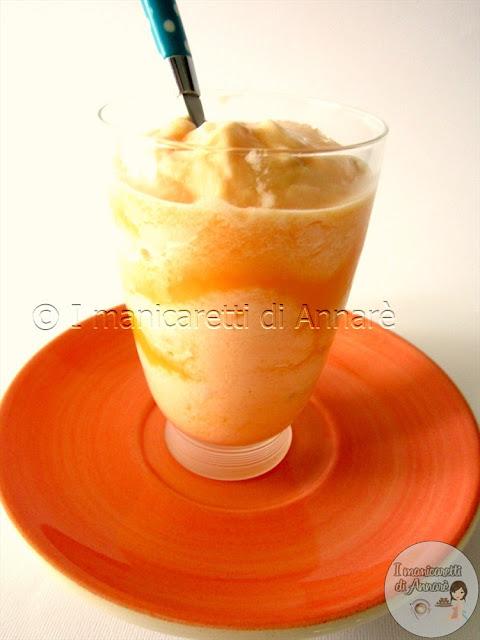 sorbetto al melone senza gelatiera!!