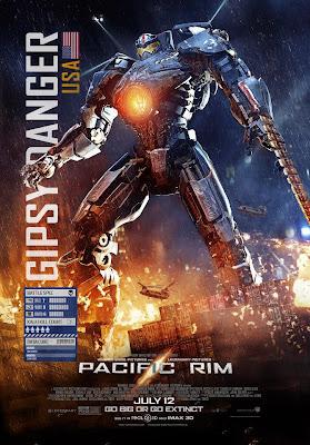 pacific rim 2013 movie poster  Pacific Rim:ギレルモ・デル・トロ監督のSFア...