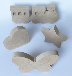 MDF Wooden Shapes