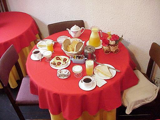 Desayuno Continental Que Incluye