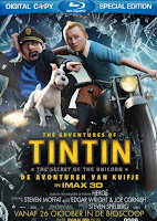 Download The Adventures of Tintin (2011) BluRay 720p 700MB Ganool