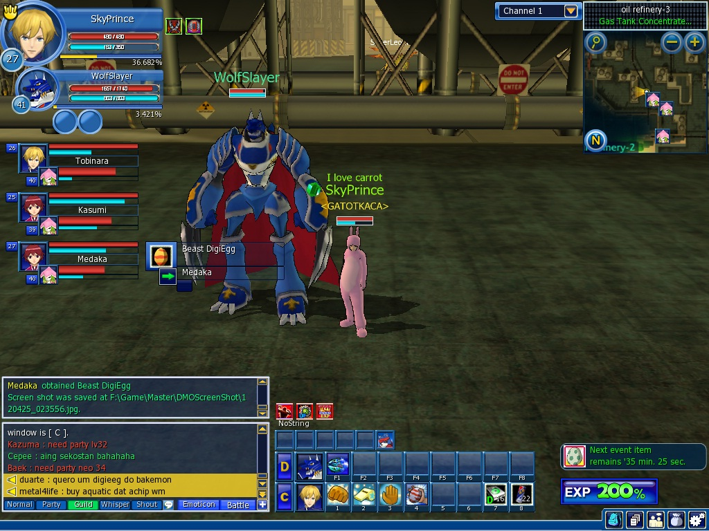 digimon masters online how to get elecmon