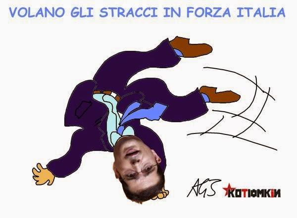 Capezzone, Forza Italia, satira
