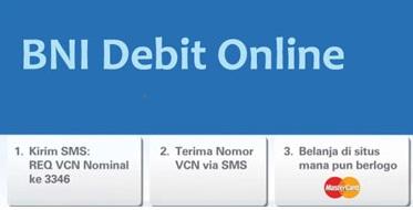 halaman depan BNI Debit Online