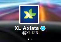 Akun Official Twitter XL
