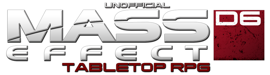Unofficial Mass Effect Tabletop RPG