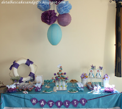 Litlle mermaid theme