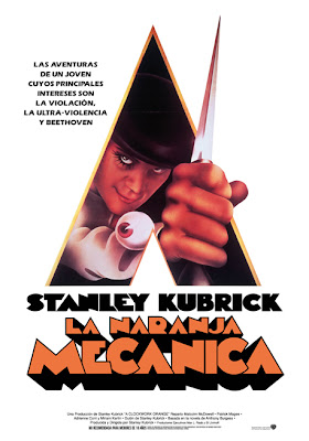 Cartel de La naranja mecánica (1971), de Stanley Kubrick. Revista Making Of-Clockwork Orange