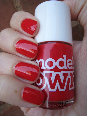 Models Own Red Alert Nail Polish