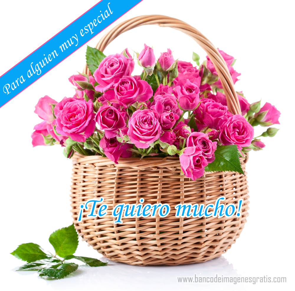 BANCO DE IMAGENES GRATIS: Para alguien muy especial - Te quiero mucho
